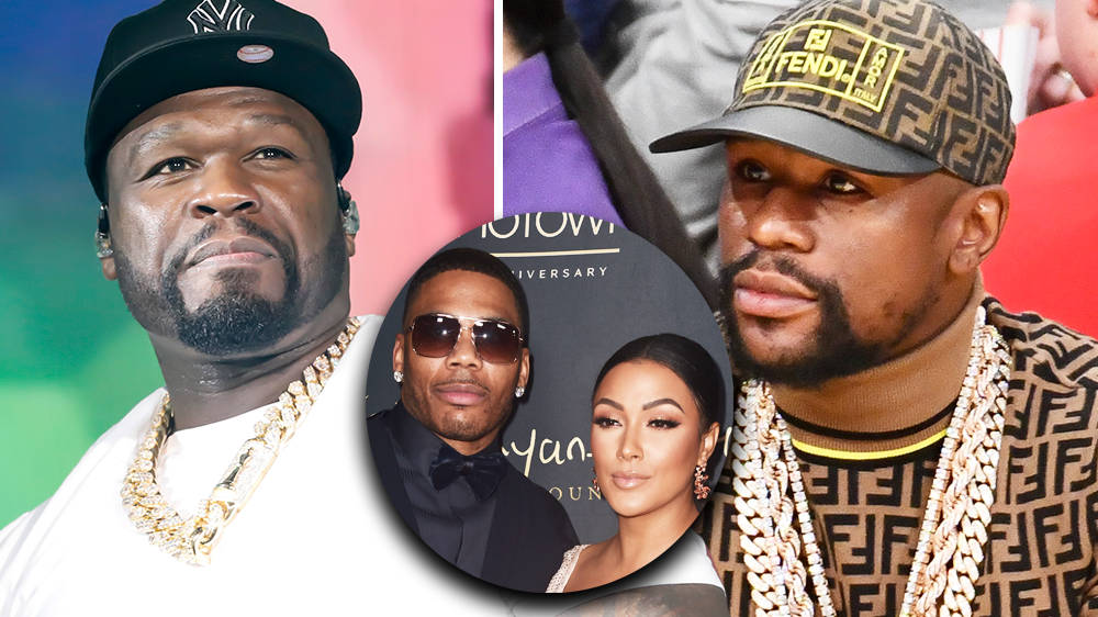 "50 Cent trolls Floyd Mayweather claiming Nelly ""stole"" his ex Shantel Jackson - Capital XTRA"
