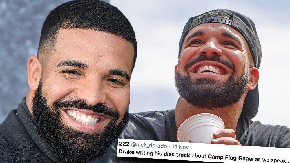 Drake fans troll rapper with 'diss track' memes after he got booed off stage