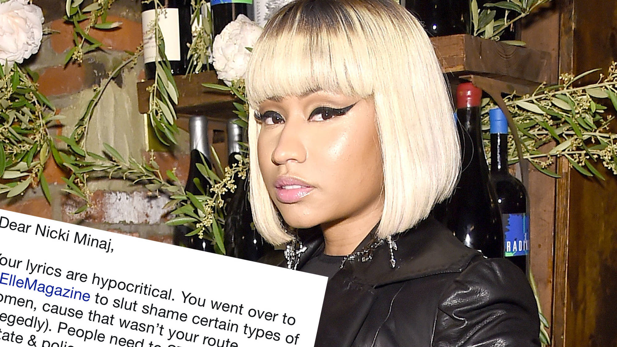 Nicki Minaj Clapped Back At Someone Who Called Her Sexual