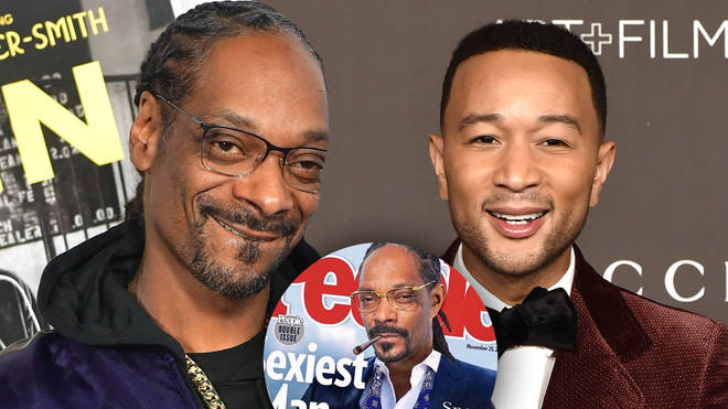 Snoop Dogg replaced 'sexiest man alive' John Legend on his joke People magazine cover.