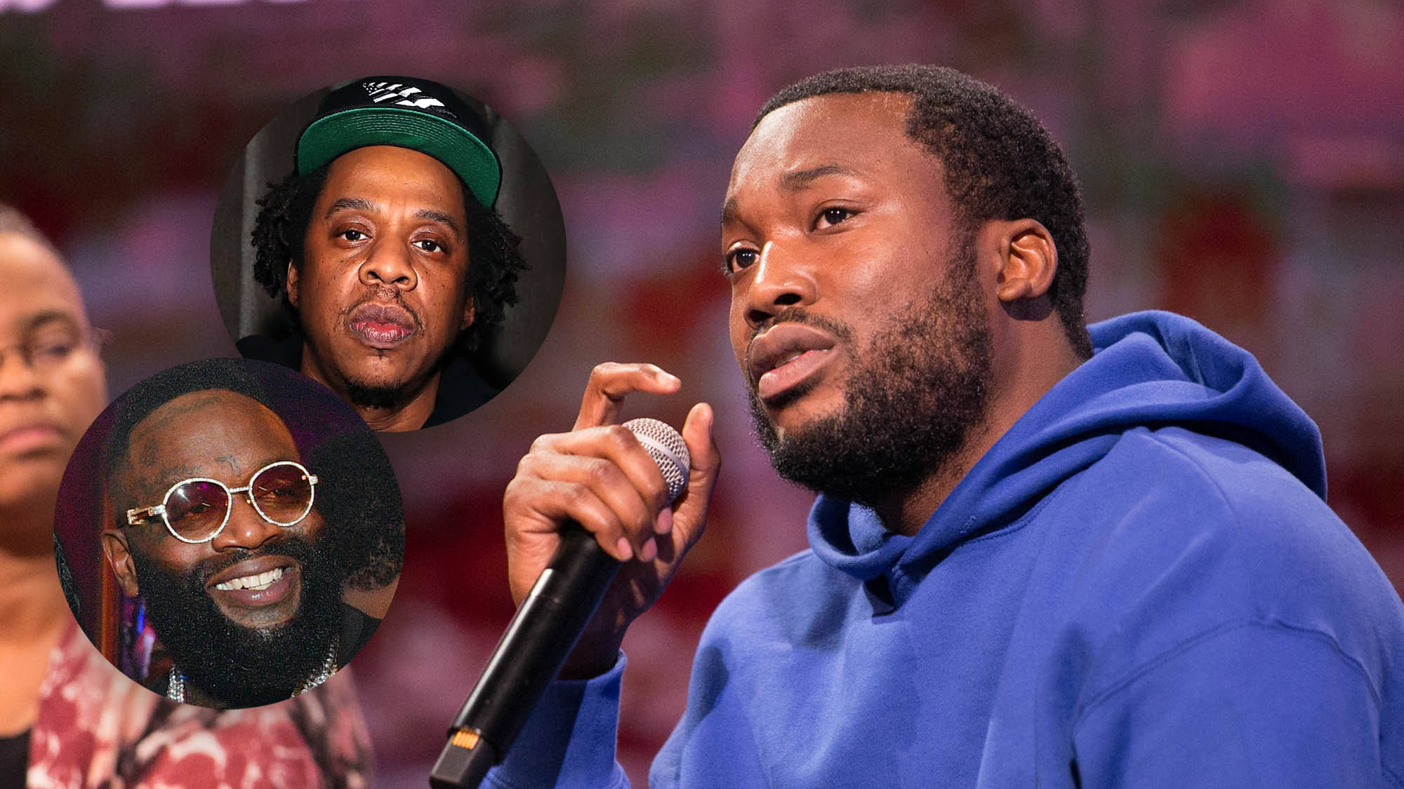 Meek Mill confirms his top five favourite rappers of his era