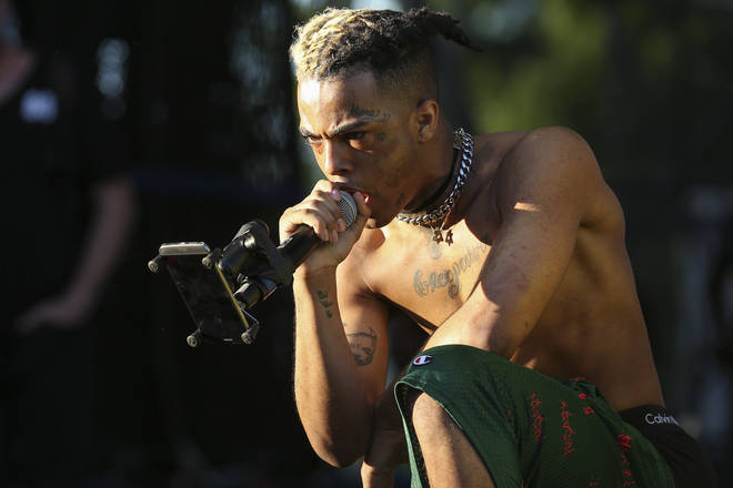XXXTentacion performs during the second day of the Rolling Loud Festival in downtown Miami on Saturday, May 6, 2017. (Photo by Matias J. Ocner/Miami Herald/TNS/Sipa USA)