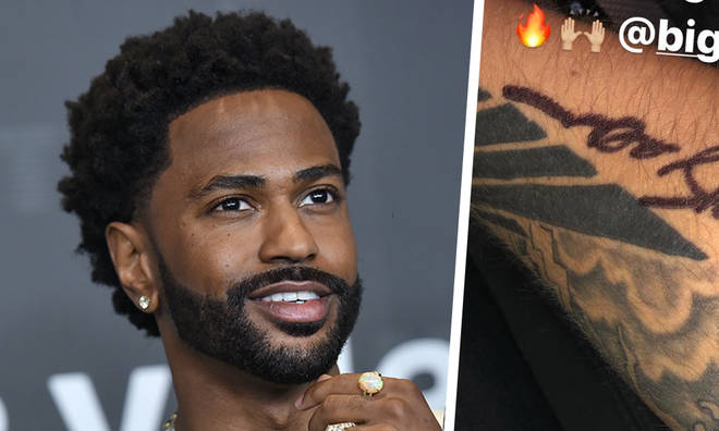 Big Sean fan gets him to draw them a tattoo