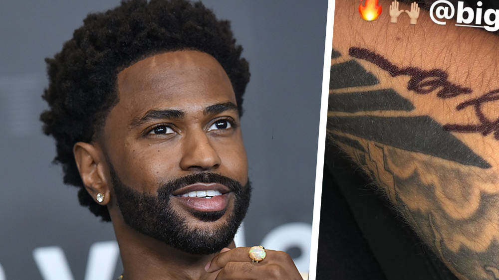Big Sean draws tattoo for fan after he ignores meet & greet rules - Capital XTRA