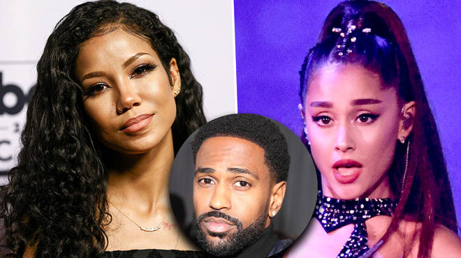 "Jhene Aiko seemingly ""throws shade"" at Big Sean's ex Ariana Grande in new song"