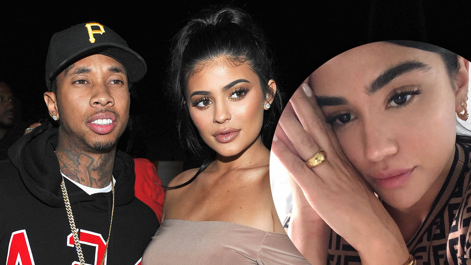 Tyga's rumoured new girlfriend trolled for being a 'Kylie Jenner look-a-like'