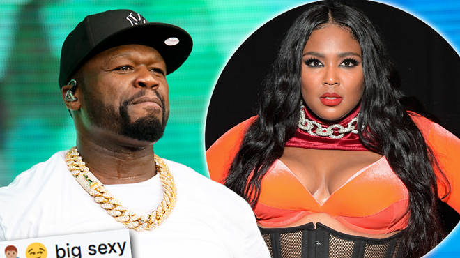 50 Cent has shoot his shot at singer Lizzo on Twitter