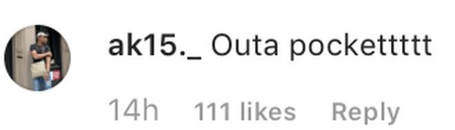 Fan comments on Lil Fizz post