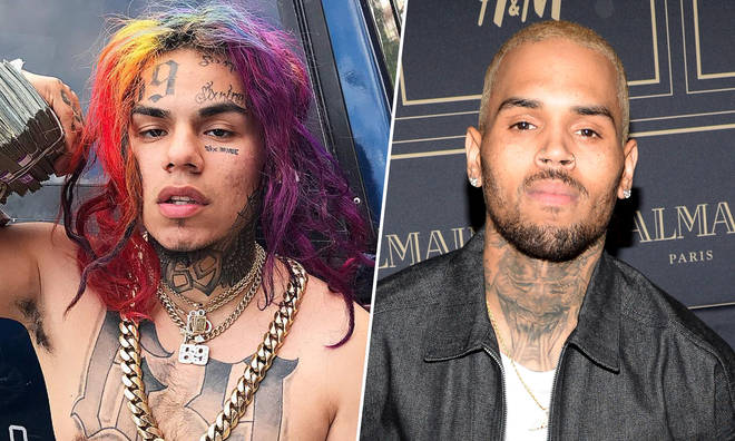 Tekashi 6ix9ine & Chris Brown.