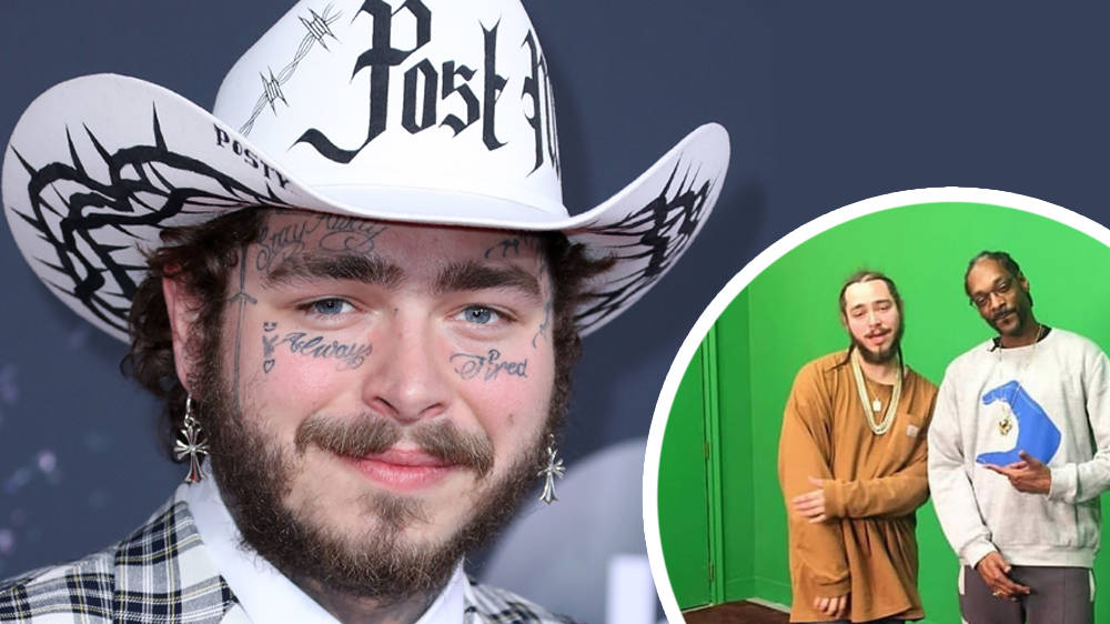 Post Malone's Face Without Tattoos Has Been Revealed By