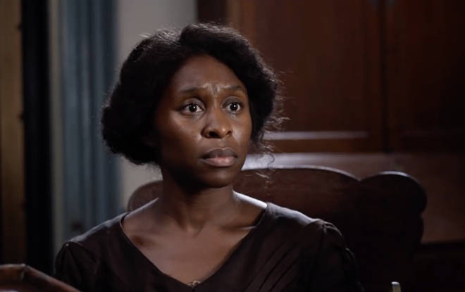 British-Nigerian actress Cynthia Erivo stars as American-born civil rights activist Harriet Tubman in 'Harriet'.